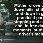 When Mother Learned to Drive
